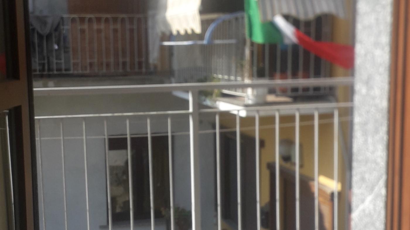 Balconcino con tricolore